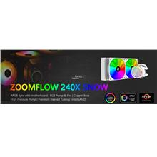 # ID-COOLING Zoomflow 240X Snow Ed. ARGB AIO CPU Cooler #