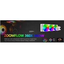 # ID-COOLING Zoomflow 360X Snow Ed. ARGB AIO CPU Cooler #