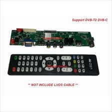3463 Universal LED LCD TV Controller Board Support DVB-T (CB-013)