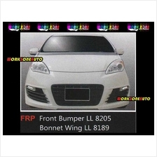 LL8205GOLFRLED(DL-017) Perodua Alza Fiber Front Bumper With Golf R LED