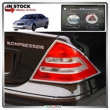 Mercedes C-Class W203 2001-2007 Custom Fit ABS Plastic Rear Tail Lamp