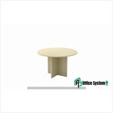 4 Feet Round Shape Discussion Meeting Table - Modern Series