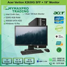 Acer Veriton X2630G SFF i3 4th 4GB RAM 500GB HDD +19' Monitor W10P