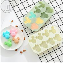 Cartoon Shape Sugar Cake Chocolate Silicone Mold