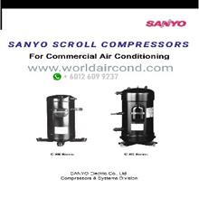 Sanyo Rotary Scroll Compressor
