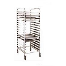 15 x 2 30 Trays Baking Pan Trolley Cooling Rack Bakery