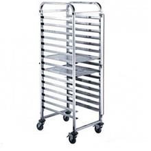15 Layers Baking Pan Trolley Cooling Rack Bakery 60cm X 40cm