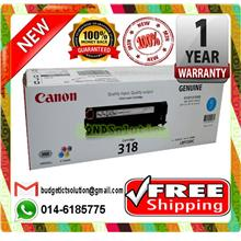 NEW CANON 318 CYAN Toner LBP-7200 7680 (FREE SHIPPING)