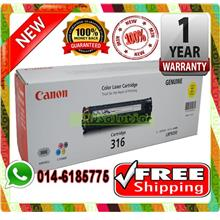 NEW CANON 316 YELLOW Toner LBP-5050 5050N (FREE SHIPPING)