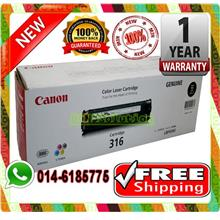 NEW CANON 316 BLACK Toner LBP-5050 5050N (FREE SHIPPING)