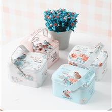 European Style Candy and Biscuit Packaging Metal Box