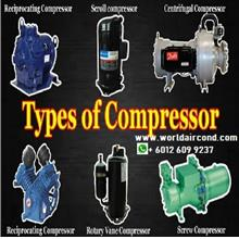All Type Air Cond Cooling HVAC Compressor