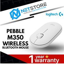 LOGITECH PEDDLE M350 WIRELESS BLUETOOTH MOUSE - WHITE 910-005600