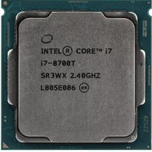 Intel Core i7-8700T Processor 2.40GHz 6Cores 12MB 8GTs LGA1151 CPU