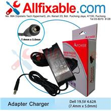 Dell 19.5V 4.62A Inspiron 15-3000 3521 5542 5545 P28 Adapter Charger