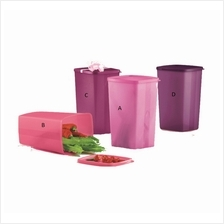 Tupperware Large Square Round (1 pc) 2.0L