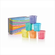 Tupperware Rainbow Cubes Gift Set (6) 80ml