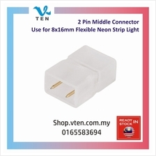 2 Pin 7mm Middle Connector For 8x16mm Neon LED Strip Light Penyambung