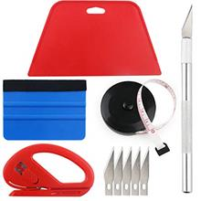 Wallpaper Smoothing Tool Kit Include black tape measure,red squeegee,medium-ha
