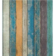 Rustic Plank Wood Peel and Stick Wallpaper - Wood Wallpaper – Removable Cont