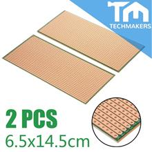 2Pcs Stripboard Veroboard Uncut PCB Platine Single Side Circuit Perf B
