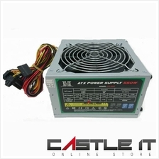 M-Box 550W ATX Power Supply Support Core i7 Core i5 Core i3 AMD AM4
