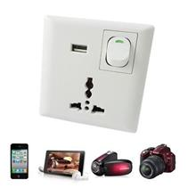 Universal Wall Socket with USB Interface