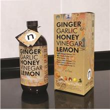 Nutrilicious Ginger Garlic Honey Vinegar Lemon GGHVL 500ml