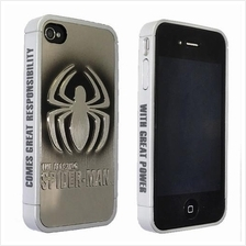The Spiderman Metal Plating iPhone 4s Phone Cover