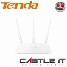 TENDA F3 ROUTER Standard Wireless Router N300 300mbps