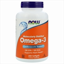 Now Foods, Omega-3, 180 EPA/120 DHA (200 Softgels)
