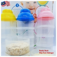Baby Milk Powder Dispenser and Snack Container