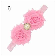 Baby hair accessories girls hair accessories with pearl rhinestones