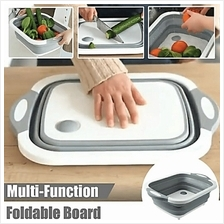 Multifunction 3 IN 1 Foldable Cutting Board Chopping Board