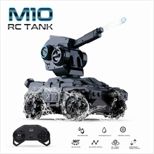 SMRC M10 RC Tank Remote Control Tank with Water Bead 360\u00b0 Rotating Turret