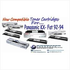 PANASONIC  KX FAT 92/ 94 Compatible MONO  Toner cartridges