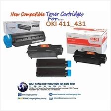 OKI 411 / 431 Compatible MONO Toner cartridges