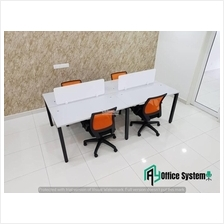 4 Feet Rectangular Shape Office Table Partition Workstation - R 22
