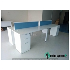 6 Feet Rectangular Shape Office Table Partition Workstation - R 21