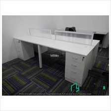 6 Feet Rectangular Shape Office Table Partition Workstation - R 20