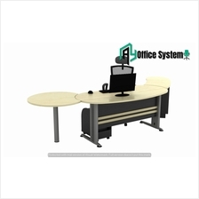 6 Feet Managerial Level Office Table| Office Furniture - VTB 33 - SET