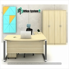 6 Feet Managerial Level Office Table|Office Furniture - VOL 180A - SET