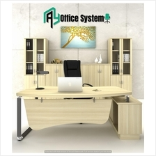8 Feet Director Office Table| Office Furniture - VOX 2400