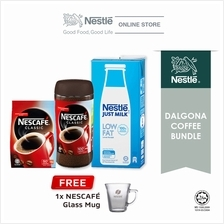 Nescafe Classic Dalgona Bundle Option 1, Free 1 Nescafe Mug