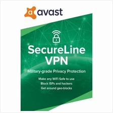 Avast Secureline VPN 2021 - 1 Year 5 PC Device  - Windows 7 8 10 Pro