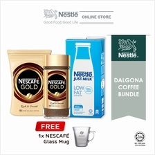Nescafe Gold Dalgona Bundle Option 1, Free 1 Nescafe Mug