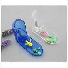Safety Shield Tablet Pill Cutter with Pill Grip