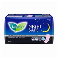 Laurier Night Safe Wing 30cm Pads 16pc