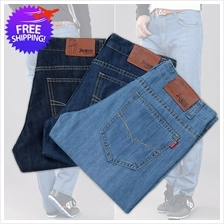 Men Classic Jeans Straight Cut Slim Fit For Smart and Casual Wear