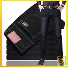 Men Classic Jeans Straight Cut Slim Fit For Business and Casual Wear